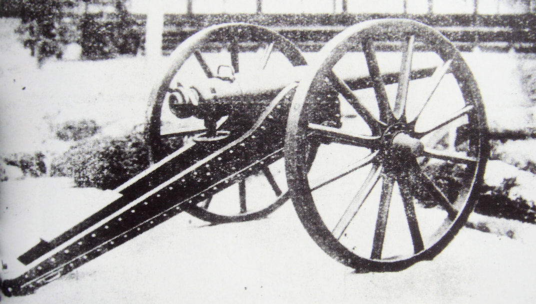 Sagahan_Armstrong_gun_used_at_the_Battle_of_Ueno_against_the_Shogitai_1868