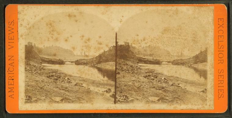 Below_dam_looking_up_through_Gap,_from_Robert_N._Dennis_collection_of_stereoscopic_views